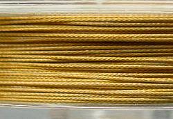 Best.Nr.:36003 Edelstahldraht nylonummantelt,gold