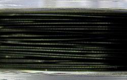 Best.Nr.:36001  Edelstahldraht nylonummantelt,schwarz