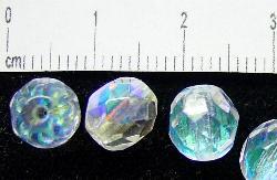 Best.Nr.:28025 facettierte Glasperlen kristall mit AB