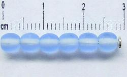 Best.Nr.:22355 Glasperlen aqua mattiert