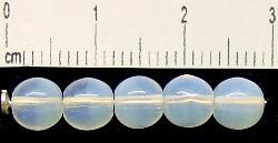 Best.Nr.:22008 Glasperlen milchweiß opal