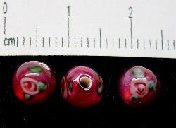 Best.Nr.:45-9274 handgefertigte Lampenperle aus den Böhmischen Glashütten