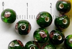 Best.Nr.:45-9279     handgefertigte Lampenperle aus den Böhmischen Glashütten