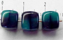 Best.Nr.:49087 Glasperlen Würfel Zweifarbenglas, hergestellt in Gablonz / Tschechien