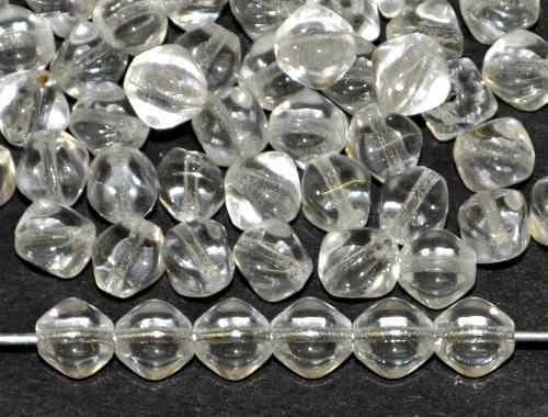 Best.Nr.:s-0030 Glasperlen Doppelpyramide kristall, hergestellt in Gablonz Tschechien